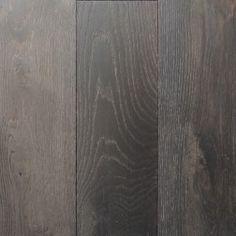 Dark Grey European Oak Engineered Timber Flooring - our floors...will be done Floor Co
