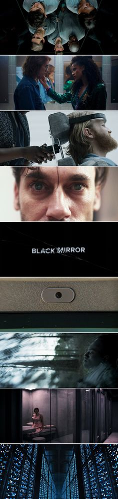BLACK MIRROR // Aesthetics