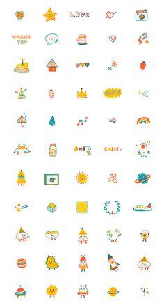 일러스트레이션 Nail Desing nail designs for 9 year olds Journal Stickers, Planner Stickers, Printable Stickers, Cute Stickers, Kawaii Drawings, Cute Drawings, Design My Own Tattoo, Hight Light, Memo Notepad