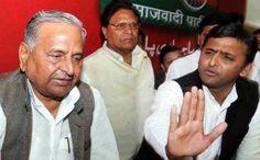 #Akhilesh #Yadav, #Expelled By #Father #Mulayam #Singh - Friday evening Samajwadi Party chief Mulayam Singh Yadav expelled Chief Minister Akhilesh Yadav and Ram Gopal for weakening the party.