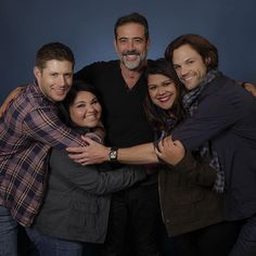 Met Jared Padalecki, Jensen Ackles, and Jeffrey Dean Morgan for the very first time in my 1st #Supernatural Convention! #PasCon #samwinchester #deanwinchester #johnwinchester #familysandwich #J3