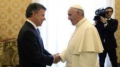 El papa Francisco viajará a Colombia en 2017