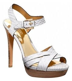 Coach Dani White Snakeskin Size 7: Msrp $298 Chalk White Sandals. Get the must-have sandals of this season! These Coach Dani White Snakeskin Size 7: Msrp $298 Chalk White Sandals are a top 10 member favorite on Tradesy. Save on yours before they're sold out!