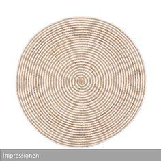 Runde Teppich runder häkelteppich blassrosa babyzimmer teppich