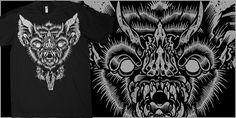 """GRAVETAKERS: Shakaka"" t-shirt design by Craig Robson"