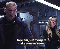"Legends of Tomorrow - Captain Canary {Sara & Leonard} ""You want to dance, Leonard? Legends Of Tommorow, Dc Legends Of Tomorrow, Captain Canary, Leonard Snart, Dc Tv Shows, Snowbarry, Wentworth Miller, Flash Arrow, Prison Break"