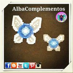 Llaveros o colgante de bolso o mochila de Navi hada de Link en Zelda #hechoamano en #AlbaComplementos #handmadejewelry #handmade #llavero #cuelgamochila #cuelgamochilas #colgante #colgantedebolso #cuelgamaletas #cuelgabolsos #navi #hada #Azul #pixy #link #zelda #pixels #beads #fairy