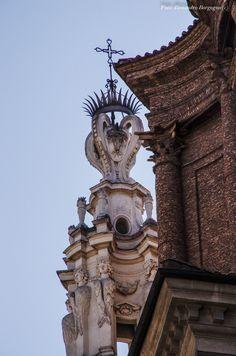 Borromini - Sant'Andrea delle Fratte - Campanile e Cupola (1653 – 1667) [Parte terza - Giù per i vicoli e su per le torri]