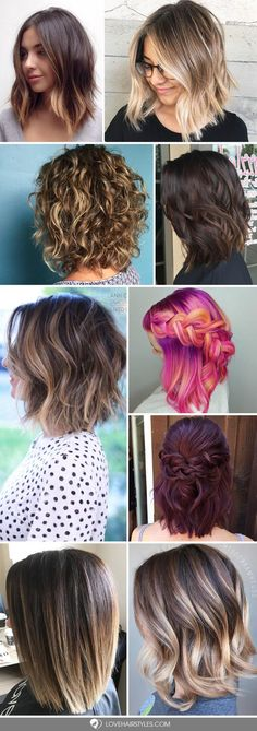 We have collected the trendiest shoulder length hair styles that you will want to recreate. Find out how to create a cute do with middle length hair. #shoulderlengthhair #hairstyles