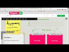 Glogster: grandes posters para tus clases. - YouTube