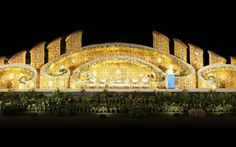 Photo of Decor - Anuj Decorators via The best place to plan a modern Indian wedding, WedMeGood cover Wedding Hall Decorations, Wedding Reception Backdrop, Marriage Decoration, Wedding Mandap, Wedding Receptions, Wedding Stage Design, Online Wedding Planner, Indian Wedding Planning, Wedding Preparation
