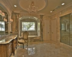 Luxury Bathroom Great Size Master Bath But Hate Cabinets And Don T Like Tub Material Honey