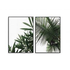 MINIMAL TROPICS - zestaw tropikalnych plakatów roślinnych Minimalism, Plant Leaves, Pattern, Graphics, Travel, Art, Art Background, Viajes, Graphic Design