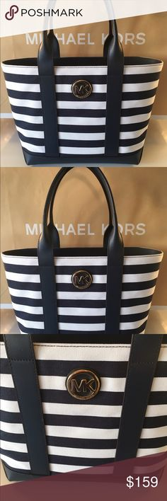 🆕MICHAEL KORS NEW ROOMY SHOULDER TOTE 💯AUTHENTIC MICHAEL KORS NEW NEVER USED WITH TAGS ROOMY SHOULDER TOTE 💯AUTHENTIC. STUNNING AND STYLISH TOTALLY ON TREND. WHAT A BEAUTIFUL BAG! SO CHARMING AND PERFECT FOR THE WOMAN ON THE GO! THIS BAG HAS A GREAT REAR OUTSIDE POCKET. INSIDE THE MAIN COMPARTMENT YOU WILL FIND FIVE WONDERFUL WALL POCKETS! THIS BAG MEASURES NEARLY 16 INCHES WIDE AND A LITTLE OVER 10.5 INCHES TALL. THE SHOULDER STRAPS HAVE A 7.5 INCH DROP Michael Kors Bags Totes