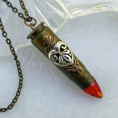 Bullet Pendant Necklace Jewelry Ammo Jewellery
