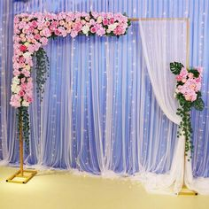 Wedding scene stage rectangular wrought iron arch adjustable gold white backdrop stand christmas party ceremony decor flower shelf Product Description ·Name: Wedding background iron stand ·Brand: Flone ·Material: metal iron ·Occasion:DIY Wedding patry Desi Wedding Decor, Wedding Hall Decorations, Wedding Scene, Backdrop Decorations, Background Decoration, Flower Decorations, Floral Backdrop, Floral Arch, White Backdrop