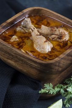 Murg Rezala. A traditional Bengali recipe which is very flavorful.
