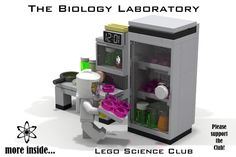 "Hello and welcome to my next Lego Idea: The Biology Laboratory / Lego Science Club This Set is the ""Base"" of a biology laboratory and would contain: Workplate Laboratory E..."