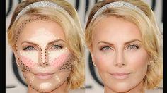 Maquiagem: aprenda a fazer o contorno facial de acordo com seu tipo de rosto