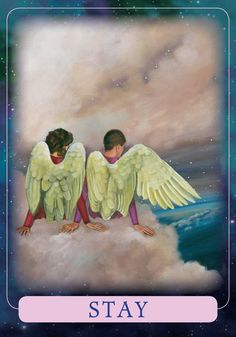This card guides you not to run away from a troubling situation. Whatever it is that's going on or challenging you right now is something you need to experience and learn from in this lifetime. There's an aspect of this situation, however unpleasant, that's not yet complete. So the angels ask you not to make any extreme moves right now. While this may seem like the exact opposite of what you hoped you'd hear, please know that the Indigo tools and lessons you'll acquire by persevering wil...