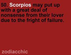 Scorpio.  FAILURE. oh yeah. Hate it. LOL