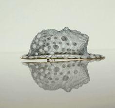 Alina Carp, brooch