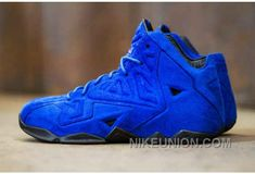 "http://www.nikeunion.com/cheap-nike-lebron-xi-11-shoes-blue-suede-for-sale.html CHEAP NIKE LEBRON XI (11) SHOES ""BLUE SUEDE"" FOR SALE : $69.40"