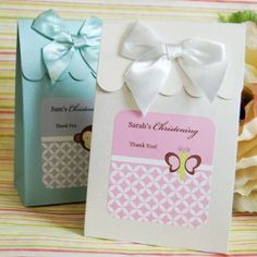 Religious: First Communion, Baptism, Christening, Confirmation Baby Favor Bags