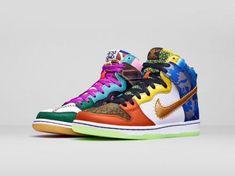 NIKE DUNK HIGH SB WHAT THE DOERNBECHER #sneaker