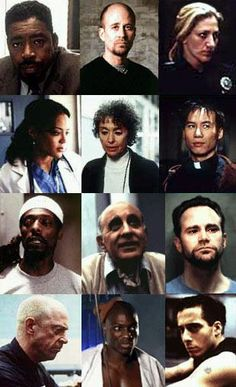 'Oz'  HBO series feature characters: One of the best written, directed and acted series on television, ever.