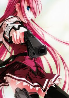 anime girl guns healyhq peterpayne girls with rock on wallpaper with