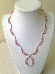 Beautiful tila beaded necklace – Luzjewelrydesign