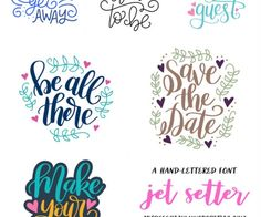 Silhouette Summary: June's New Cut File Designs. A monthly recap of all the designs I've added to the Silhouette Design Store. | DawnNicoleDesigns