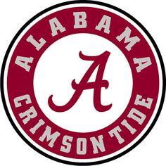 Alabama Crimson Tide | The Craft Chop  svg free file free graphic  alabama crismson tide