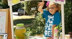 Awesome Kid Raises $30K From Lemonade Stand, Uses Money to Fight Human Trafficking - The Snitch