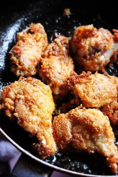 Fried Garlic Chicken.