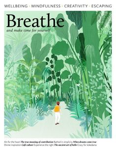 A collection of inspiring creative lifestyle magazines. Magazine Illustration, Creative Illustration, Plant Illustration, Graphic Illustration, Flow Magazine, Magazine Art, Magazine Design, Bg Design, Nature Posters