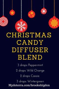 Merry Christmas! Enjoy this wonderful diffuser blend at your next holiday bash!  Mydoterra.com/brookehigdon