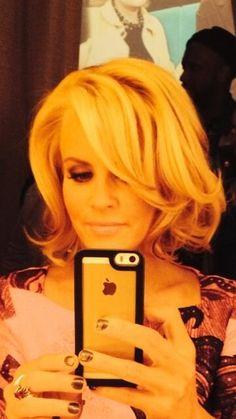 Jenny's new fresh hair. Want