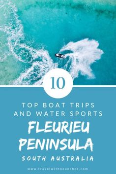 Fleurieu Peninsula South Australia is a water lovers adventure playground. Find the best boat trips tours river cruises water sports and ways to enjoy this gorgeous destination Travel Tours, Bali Travel, Travel Ideas, Travel Guide, Travel Inspiration, Travel Destinations, South Australia, Australia Travel, Top Boat