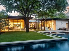 Contemporary Home, 6722 Norway Road, Dallas, Texas