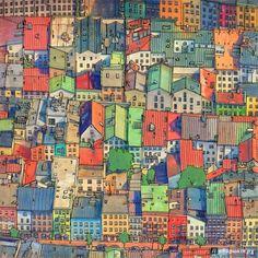 Иллюстрация 21 из 61 для Удивительные города. Раскраска-путешествие по местам, реальным и выдуманным | Лабиринт - книги. Источник: Кротова Алена