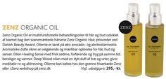 olier til hår og krop. 100 % økologiske