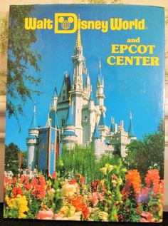 Walt Disney World And Epcot Center Pictorial Souvenir Book 1985