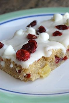Lovin' From The Oven:Cranberry Bliss Bars - Lovin' From The Oven