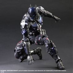 Batman Arkham Knight: Arkham Knight Play Arts Kai Action Figure - AnimePoko.com