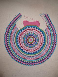 Ravelry: LUL's Flower Power Vest pattern by Lene Unmack Larsen