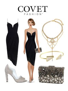 A perfect cocktail look! Style Fall 2015 in Covet Fashion today.