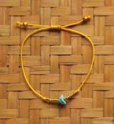 Indah Bracelet Mustard & Gold Handmade Bracelets, Mustard, Delicate, Beads, Summer, Gold, Beautiful, Jewelry, Beading