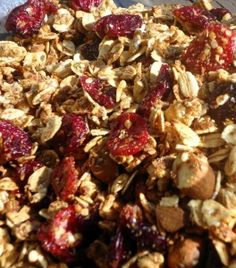 Cranberry Hemp Granola